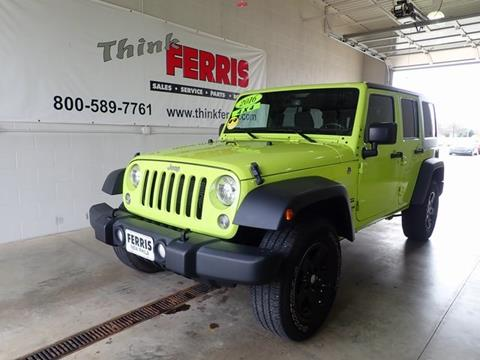 2016 Jeep Wrangler Unlimited for sale in New Philadelphia, OH