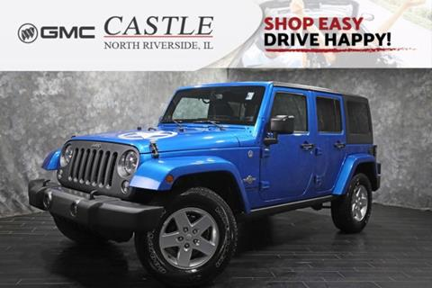 2014 Jeep Wrangler Unlimited for sale in North Riverside, IL