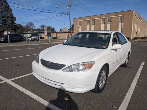 2002 Toyota Camry XLE V6 for sale at Shah Motors LLC in Paterson NJ