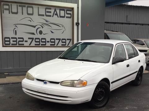 2001 Chevrolet Prizm for sale in Pasadena, TX