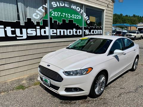 Ford Fusion For Sale Near Me >> 2016 Ford Fusion For Sale In Auburn Me