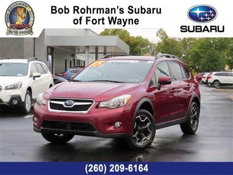 Subaru Fort Wayne >> Used Subaru Xv Crosstrek For Sale In Fort Wayne In Carsforsale Com
