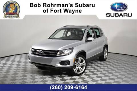 2012 Volkswagen Tiguan for sale at Bob Rohrman Subaru of Fort Wayne in Fort Wayne IN