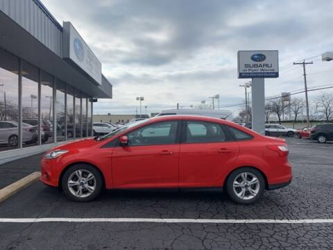 2014 Ford Focus SE for sale at Bob Rohrman Subaru of Fort Wayne in Fort Wayne IN