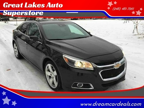 2014 Chevrolet Malibu for sale at Great Lakes Auto Superstore in Pontiac MI