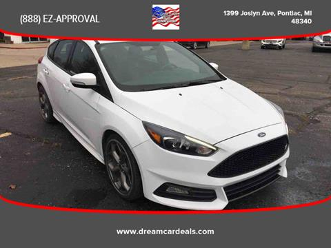 2018 Ford Focus for sale at Great Lakes Auto Superstore in Pontiac MI