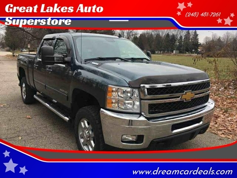 2012 Chevrolet Silverado 2500HD for sale at Great Lakes Auto Superstore in Pontiac MI