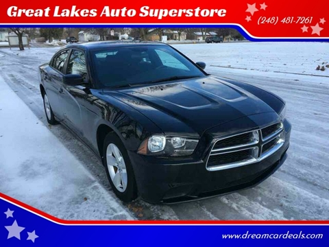 2014 Dodge Charger for sale at Great Lakes Auto Superstore in Pontiac MI