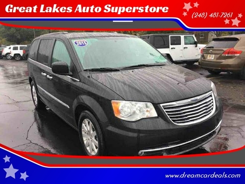 2015 Chrysler Town and Country for sale at Great Lakes Auto Superstore in Pontiac MI