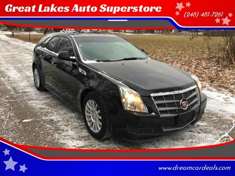 2010 Cadillac CTS for sale at Great Lakes Auto Superstore in Pontiac MI