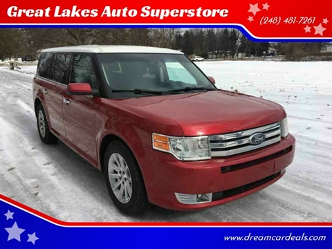 2010 Ford Flex for sale at Great Lakes Auto Superstore in Pontiac MI
