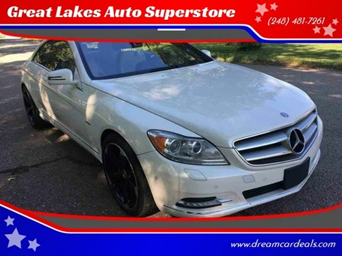 2011 Mercedes-Benz CL-Class for sale at Great Lakes Auto Superstore in Pontiac MI