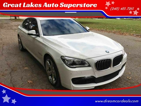 2015 BMW 7 Series for sale at Great Lakes Auto Superstore in Pontiac MI