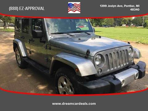 2015 Jeep Wrangler Unlimited for sale at Great Lakes Auto Superstore in Pontiac MI