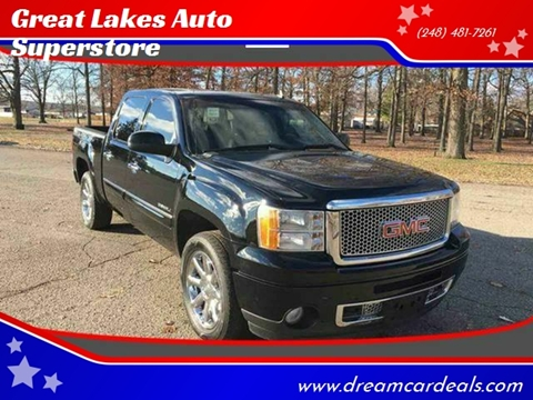 2013 GMC Sierra 1500 for sale at Great Lakes Auto Superstore in Pontiac MI
