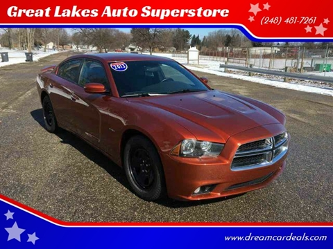 2013 Dodge Charger for sale at Great Lakes Auto Superstore in Pontiac MI