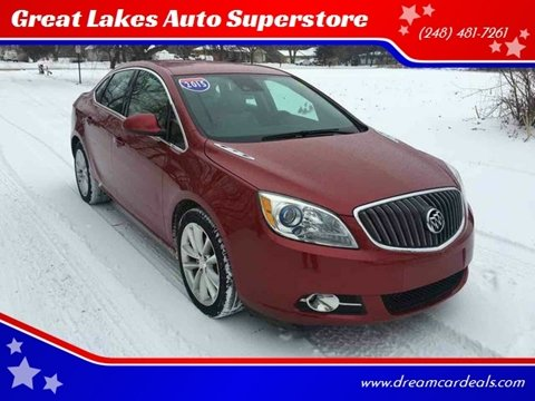 2015 Buick Verano for sale at Great Lakes Auto Superstore in Pontiac MI