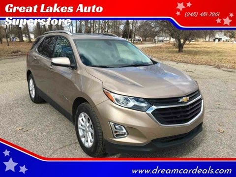 2018 Chevrolet Equinox for sale in Pontiac, MI