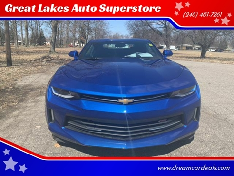 2017 Chevrolet Camaro for sale at Great Lakes Auto Superstore in Pontiac MI