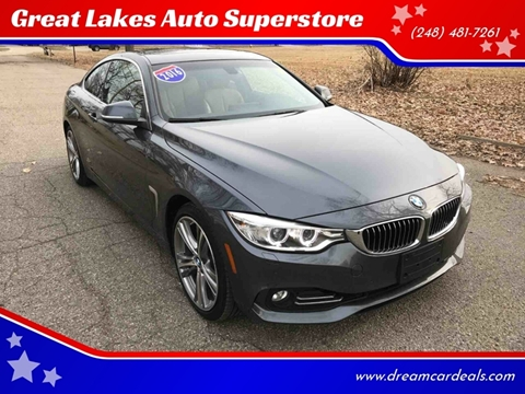 2016 BMW 4 Series for sale at Great Lakes Auto Superstore in Pontiac MI