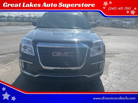 2017 GMC Terrain for sale at Great Lakes Auto Superstore in Pontiac MI