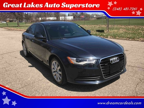 2015 Audi A6 for sale at Great Lakes Auto Superstore in Pontiac MI