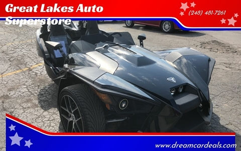 2017 Polaris Slingshot for sale at Great Lakes Auto Superstore in Pontiac MI