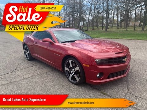 2013 Chevrolet Camaro for sale at Great Lakes Auto Superstore in Pontiac MI