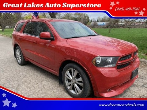 2011 Dodge Durango for sale at Great Lakes Auto Superstore in Pontiac MI