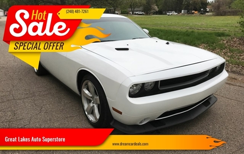 2013 Dodge Challenger for sale at Great Lakes Auto Superstore in Pontiac MI