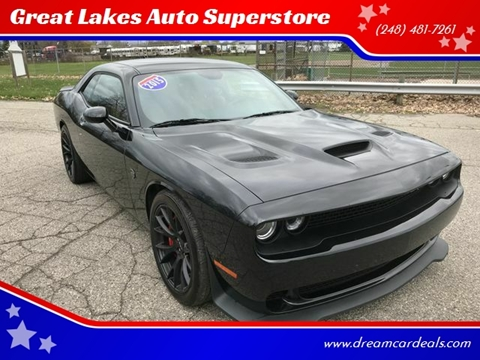 2015 Dodge Challenger for sale at Great Lakes Auto Superstore in Pontiac MI