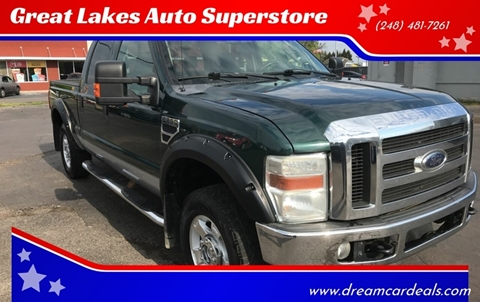 2009 Ford F-250 Super Duty for sale at Great Lakes Auto Superstore in Pontiac MI