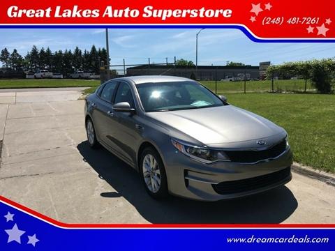 2017 Kia Optima for sale at Great Lakes Auto Superstore in Pontiac MI