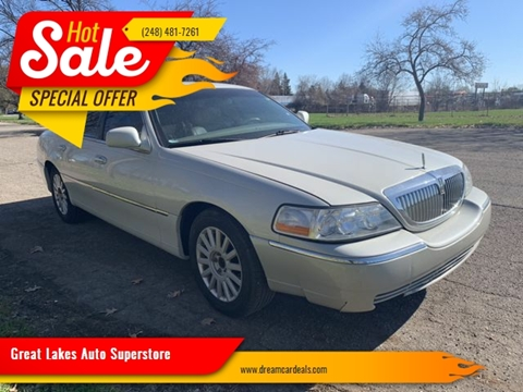 2005 Lincoln Town Car for sale at Great Lakes Auto Superstore in Pontiac MI