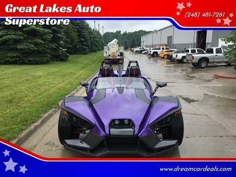 2016 Polaris Slingshot for sale at Great Lakes Auto Superstore in Pontiac MI