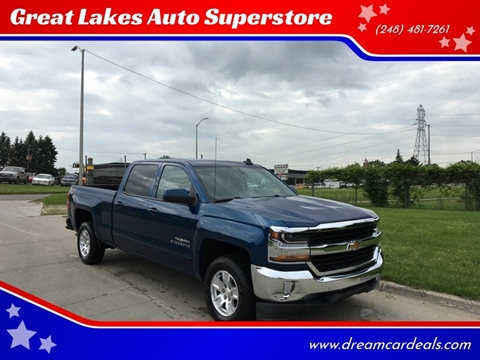 2017 Chevrolet Silverado 1500 for sale at Great Lakes Auto Superstore in Pontiac MI