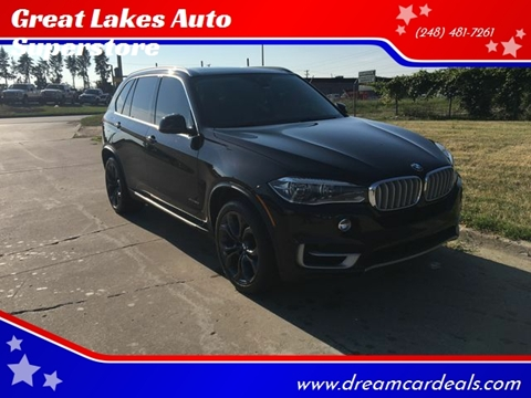 2014 BMW X5 for sale at Great Lakes Auto Superstore in Pontiac MI
