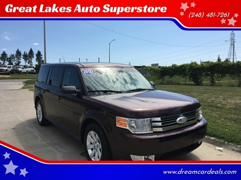 2012 Ford Flex for sale at Great Lakes Auto Superstore in Pontiac MI