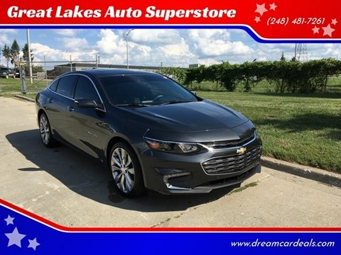 2017 Chevrolet Malibu for sale at Great Lakes Auto Superstore in Pontiac MI