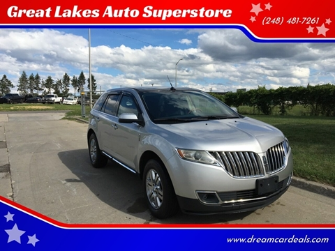 2011 Lincoln MKX for sale at Great Lakes Auto Superstore in Pontiac MI