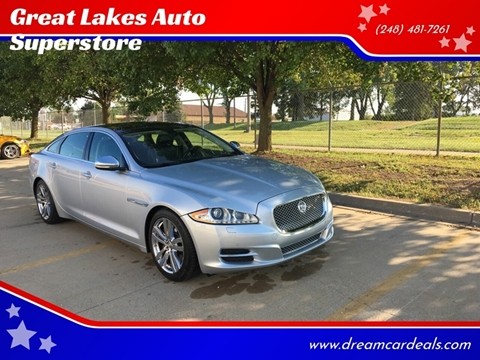 2011 Jaguar XJL for sale at Great Lakes Auto Superstore in Pontiac MI