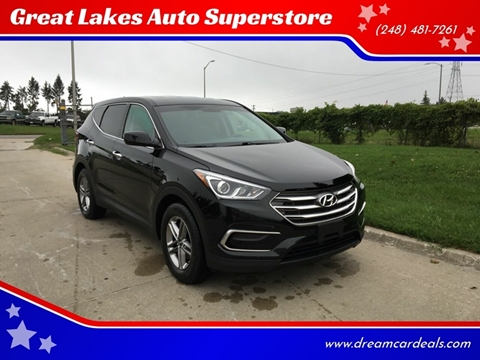 2017 Hyundai Santa Fe Sport for sale at Great Lakes Auto Superstore in Pontiac MI