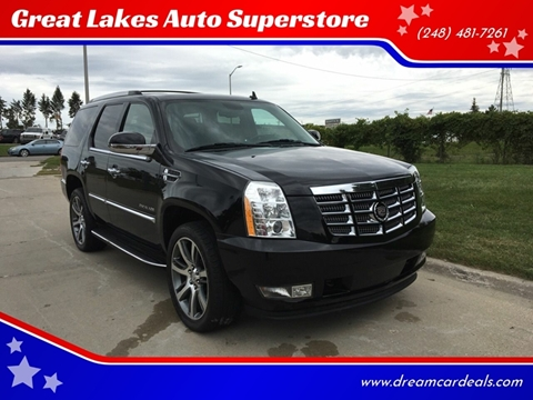 2011 Cadillac Escalade for sale at Great Lakes Auto Superstore in Pontiac MI