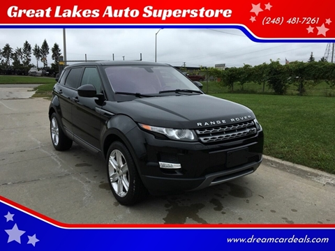 2015 Land Rover Range Rover Evoque for sale at Great Lakes Auto Superstore in Pontiac MI