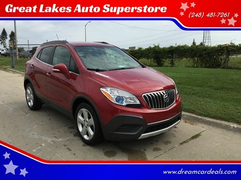 2016 Buick Encore for sale at Great Lakes Auto Superstore in Pontiac MI