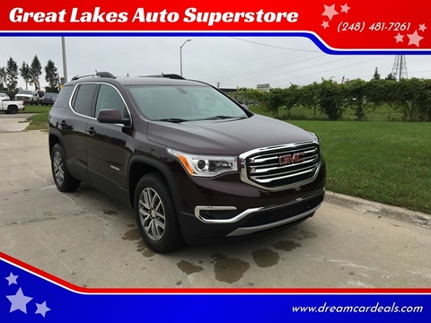 2017 GMC Acadia for sale at Great Lakes Auto Superstore in Pontiac MI