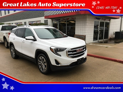 2019 GMC Terrain for sale at Great Lakes Auto Superstore in Pontiac MI