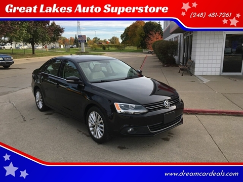 2013 Volkswagen Jetta for sale at Great Lakes Auto Superstore in Pontiac MI