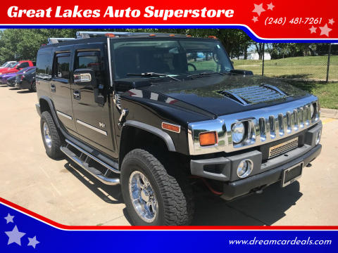2005 HUMMER H2 for sale at Great Lakes Auto Superstore in Pontiac MI