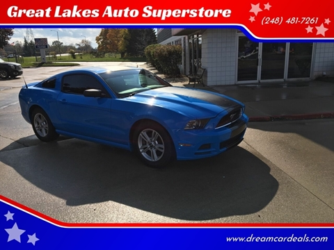 2013 Ford Mustang for sale at Great Lakes Auto Superstore in Pontiac MI